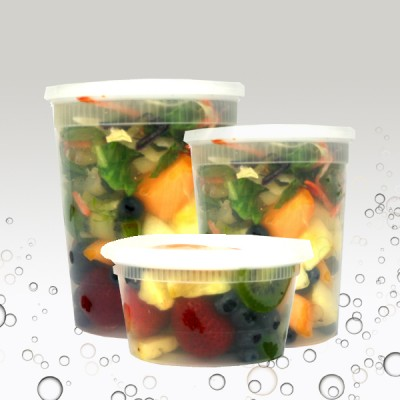 Premium Microwaveable Containers with Lids