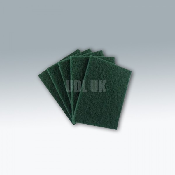 Green Nylon Scourcing Pads - Standard (CPS07)